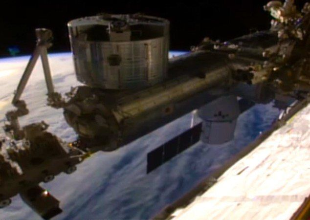 WHAT ARE THEY HIDING? - NASA has been accused of an alien cover up after a live ISS feed appearing to show a horseshoe UFO suddenly went down. Conspiracy theorists are having a field day over the sighting of the strange U-shaped object hovering on the horizon of the the International Space Station. #NASA #NTEB http://www.nowtheendbegins.com/coverup-nasa-live-space-feed-goes-dark-as-horseshoe-shaped-ufo-appears-in-frame/