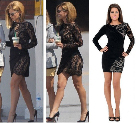 Coles bonds maxi dress