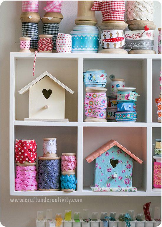Decorated birdhouse box - by Craft & Creativity