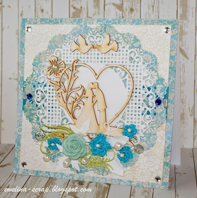 Craft Style blog: Ślubna karteczka