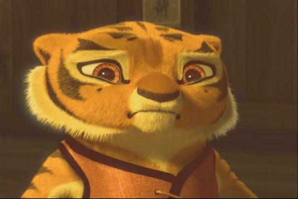 Kung fu panda tiger - photo#17