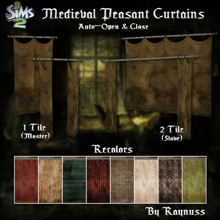 Imagine That!: Medieval Peasant Curtains