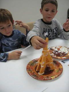 Madeline - Eiffel Tower Dessert