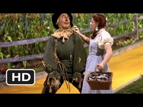 The Wizard of Oz (4/8) Movie CLIP (1939) HDI - If Only Had a Brain -