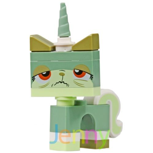 LEGO Movie Queasy UniKitty Green Mini Figure Metal Beard's Sea Cow 70810 NEW