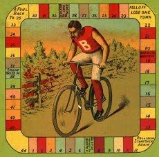 This one is made in 1910 called Bicycle Race.