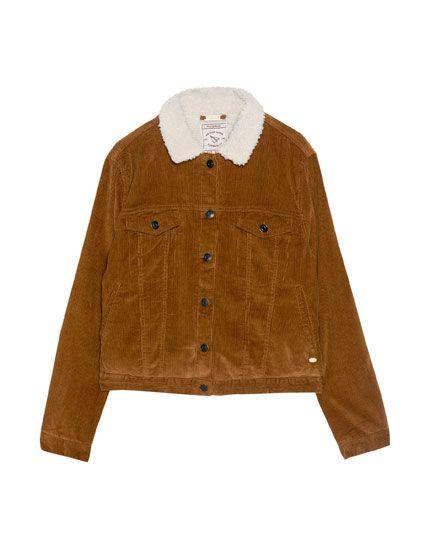 Cordjacke - Jacken - Kleidung - Damen - PULL&BEAR Deutschland