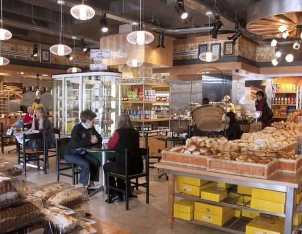 Fournos Bakery Dunkeld - check them out for platters, snacks, etc