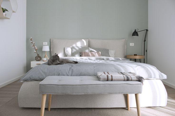 Cozy bedroom design in Bucharest. www.iokadesign.ro