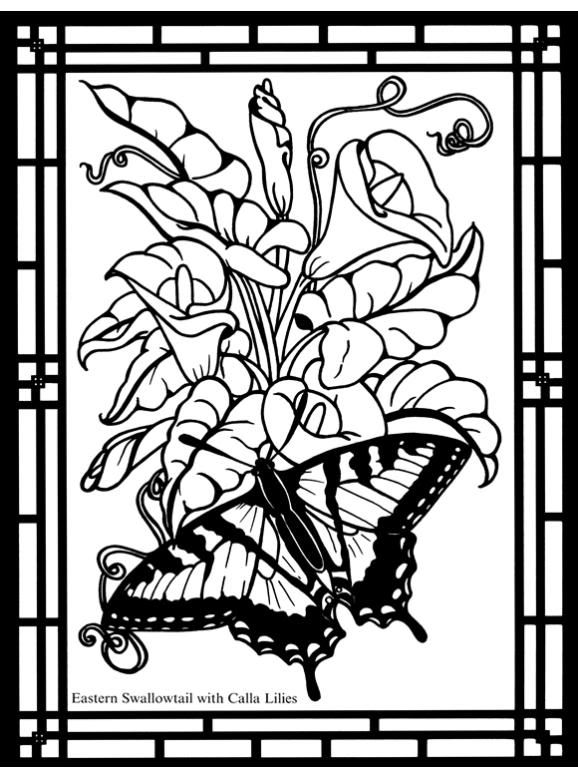 Butterfly Coloring pages colouring adult detailed advanced ...