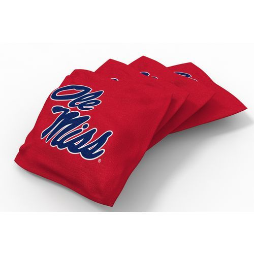 Wild Sports University of Mississippi Beanbag Set Red - Outdoor Games And Toys, Outdoor Games at Academy Sports