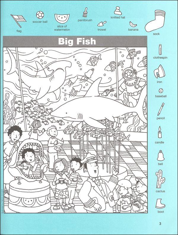 Hidden Pictures Classics: Flying Fish (004234) Details - Rainbow Resource Center, Inc.