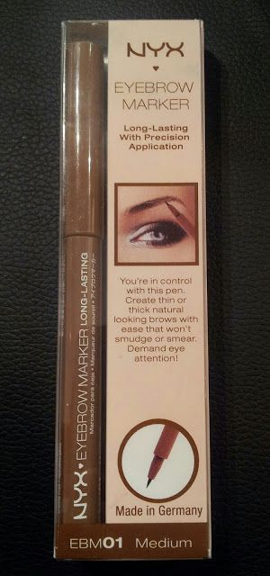 Cosmetish: NYX Eyebrow Marker Review and Swatches