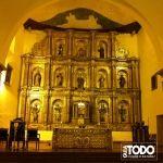 VILLA DE LEYVA Altar Mayor Iglesia Parroquial  Plaza Principal