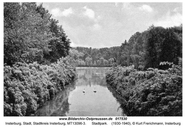 Insterburg, Stadtpark