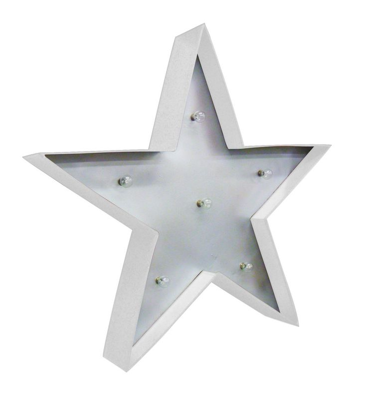 Star Marquee Light | Collected by LeeAnn Yare Ava's Room
