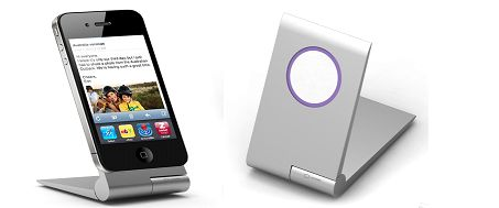 Zyroshell: Aluminum Phone Cradle for iPhone5 and Android! by G. Burt Lancaster — Kickstarter