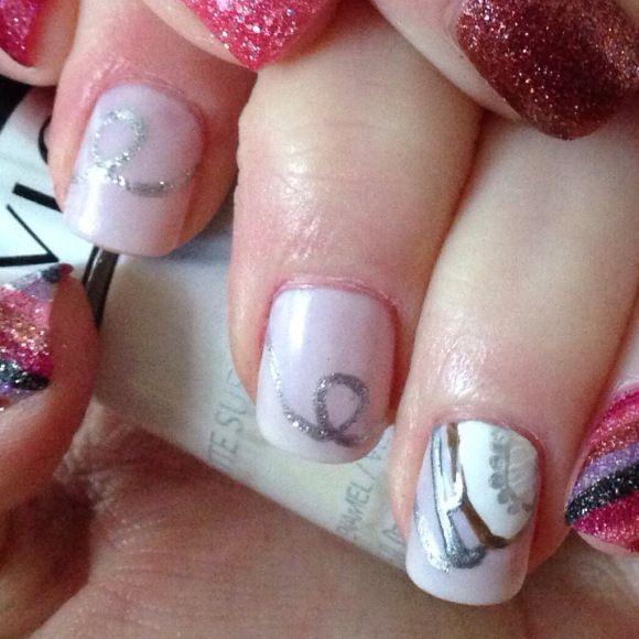 ice skate nail designs | 2014 52 Week Nail Art Challenge
