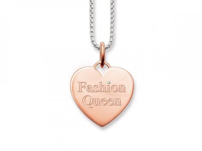 Thomas Sabo necklace, £99.  Available exclusively at Westfield London.