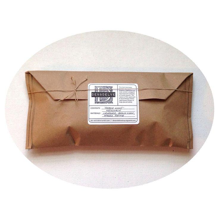 den & delve shop packaging