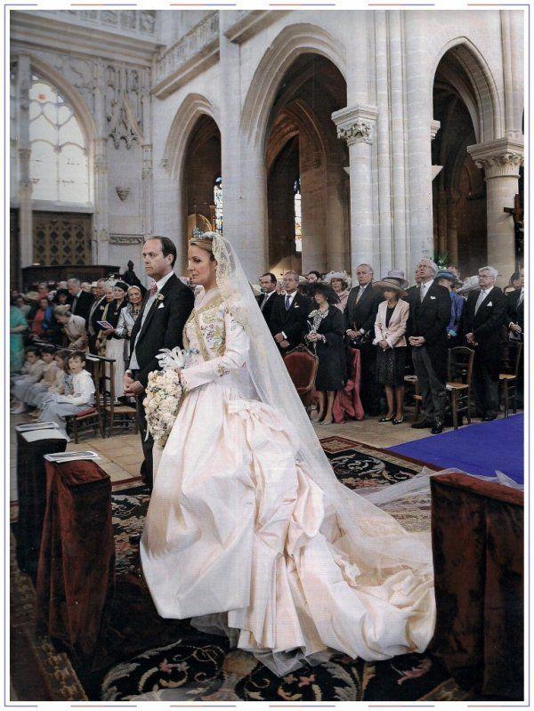 Prince Jean d'Orleans and Philomena deTornos y Steinhart wedding in 2009. Boda elegante, elegant wedding