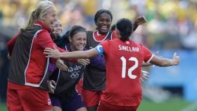 For the second consecutive Olympic Games, Canada has won bronze in women's football. The Canadian squad defeated Brazil 2-1 in...