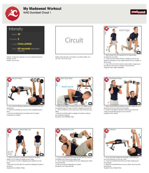 Dumbbell Chest Workouts For Men: 34 Best Images About Work Out Routines On Pinterest