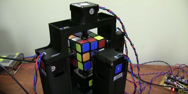El robot que arma el cubo Rubik en menos de 2 segundos http://j.mp/1PAowPA |  #Cubo, #Noticias, #RécordGuiness, #Robot, #Rubik, #Sobresalientes, #Tecnología