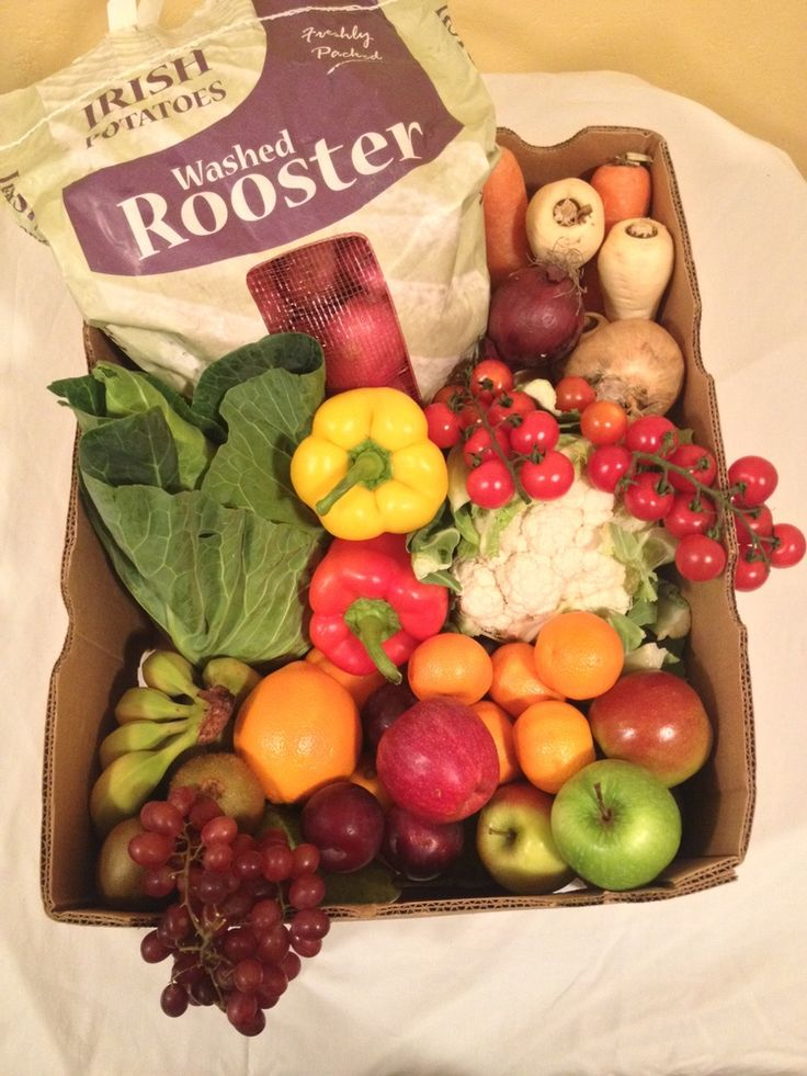 Christmas Family Fruit Vegetable Hamper