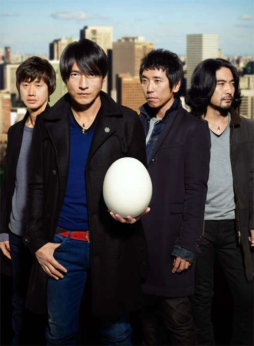 Mr.Children!My favorite artist.The're the NO.1 band in JAPAN.