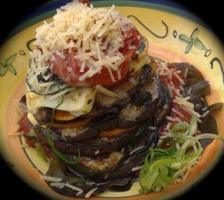 Roasted Vegetable Stack
