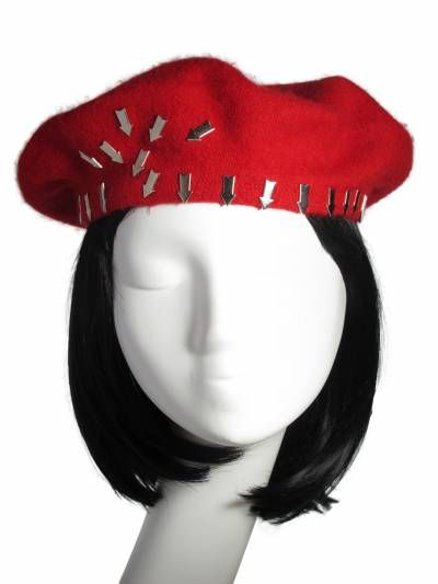 Christmas miracles! That's what NITA SAO's hats and head accessories are when they transform plain outfits into spectacular ones! #millinery #winter #fashion #designer #HouseOfNITASAO