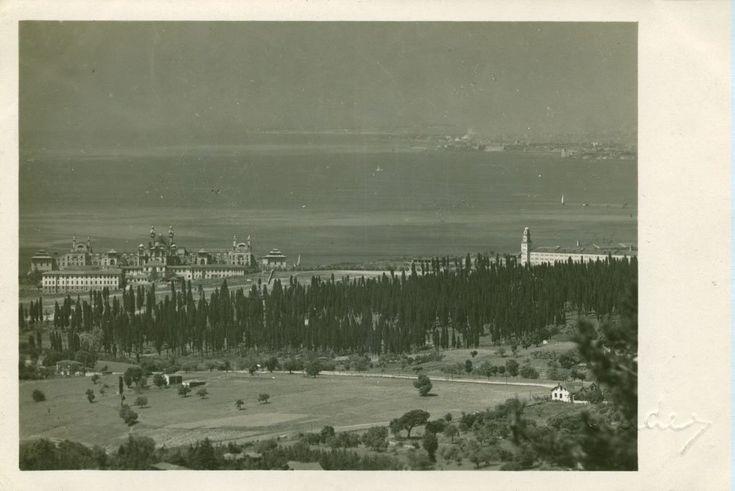 """""""Selimiye Kışlası, Karacaahmet, Haydarpaşa ve #İstanbul (1923) @hayalleme"""""""