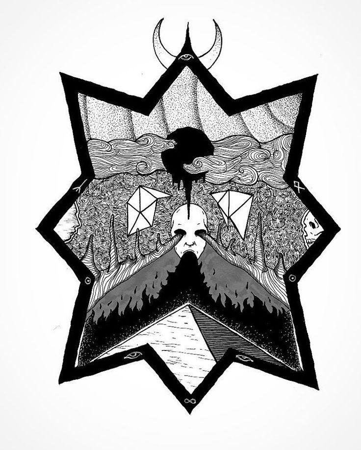 Alchemy of Sorrow. Ink on bristol. 9x12. Part of the Flowers of Evil series. Original for sale.  Alchimie de la douleur L'un t'éclaire avec son ardeur, L'autre en toi met son deuil, Nature! Ce qui dit à l'un: Sépulture! Dit à l'autre: Vie et splendeur! Hermès inconnu qui m'assistes Et qui toujours m'intimidas, Tu me rends l'égal de Midas, Le plus triste des alchimistes; Par toi je change l'or en fer Et le paradis en enfer; Dans le suaire des nuages Je découvre un cadavre cher, Et sur les…