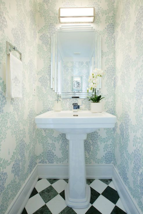 Flax design bathrooms powder room powder room mirrors Very small powder room ideas