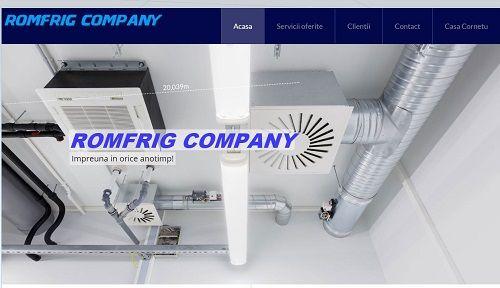 ROMFRIG COMPANY SRL a fost constituita in anul 1996 ca societate specializata in conceptia si executia lucrarilor de montaj instalatii frigorifice industriale din toate sectoarele econonice.