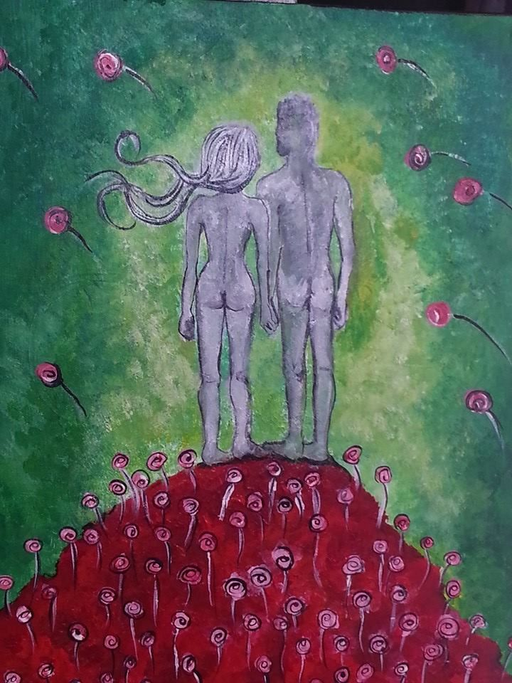Ode to Love - acrylic on canvas (2014)