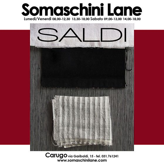 Volantino Somaschini Lane by Emanuela Terraneo