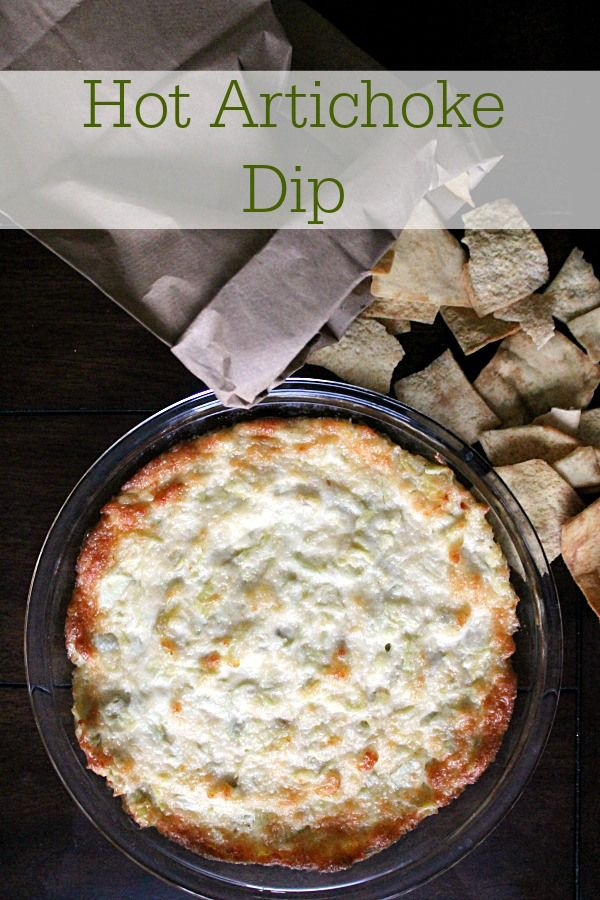 Hot Artichoke Dip with Kraft Mayo The fastest, yummiest appetizer you can wow your guests with in no time! #MustHaveMayo #Ad