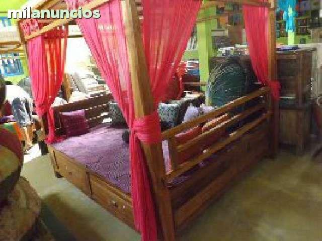 . incluye portes montaje cortinas y cojines www.balindia.es