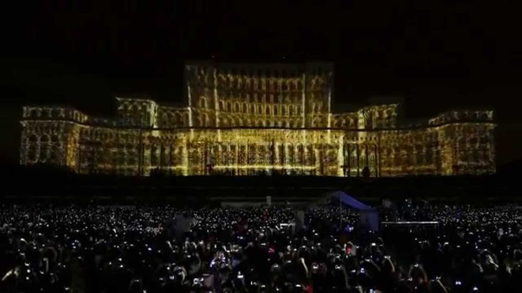 Bucharest Projection Mapping by Maxin10sity