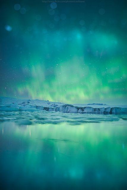 Emerald flame, Iceland