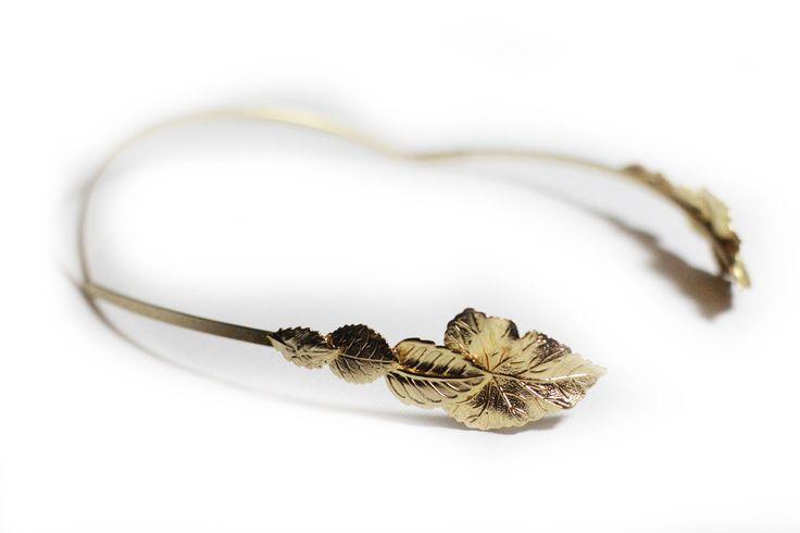 Four Leaves Goddess Headband.