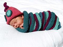 Baby caterpillar pattern