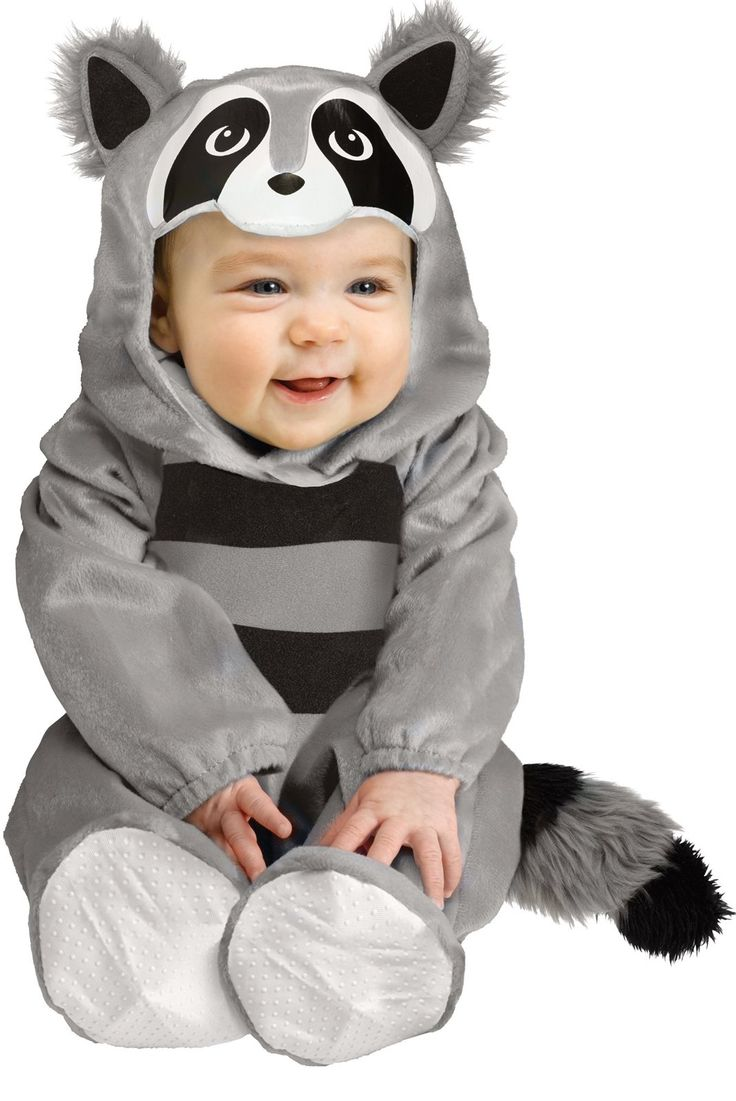 Baby Raccoon Costume For Infants from Buycostumes.com
