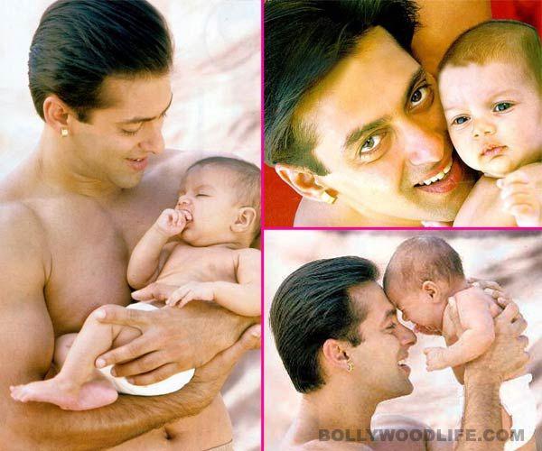 Salman Khan With Cute Baby