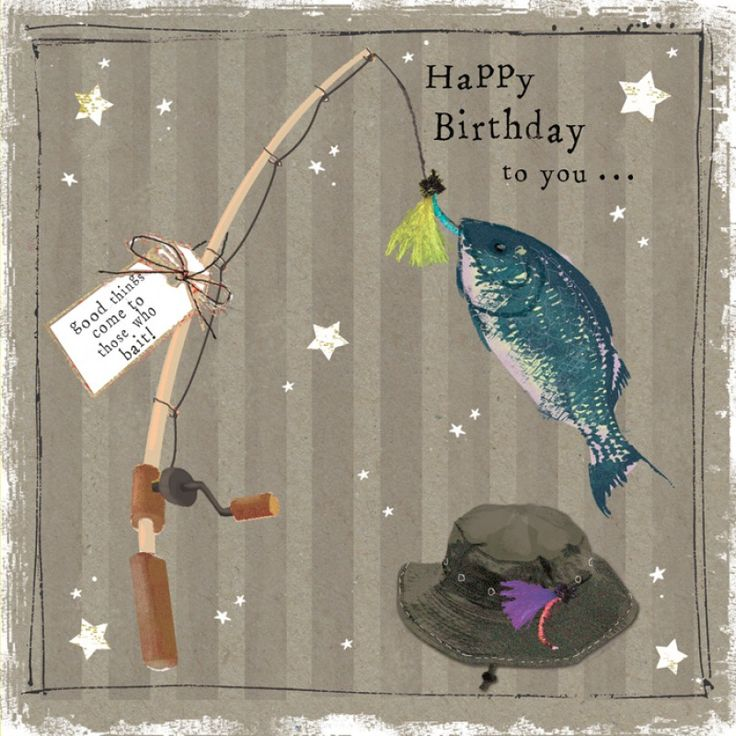 17 best images about happy birthday anniversary on for Fishing birthday wishes