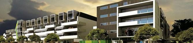 Mixed use development, Commercial / retail / residential. This gives maximum return on a piece of land previously zoned simply commercial. http://www.renovatingperth.com.au/