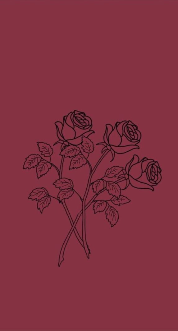roses wallpaper// follow for more ️ Edgy wallpaper, Rose