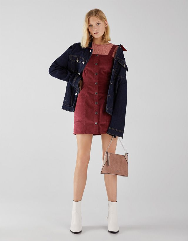 572a1019d4da New - CLOTHING - WOMEN - Bershka United States   casual.   Corduroy ...